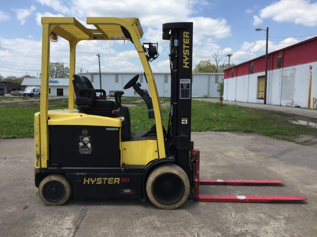 Hyster E60xn Lift Truck W Infinity Pei 24 10 Charger Ccr Forklift Wiring Diagram E60