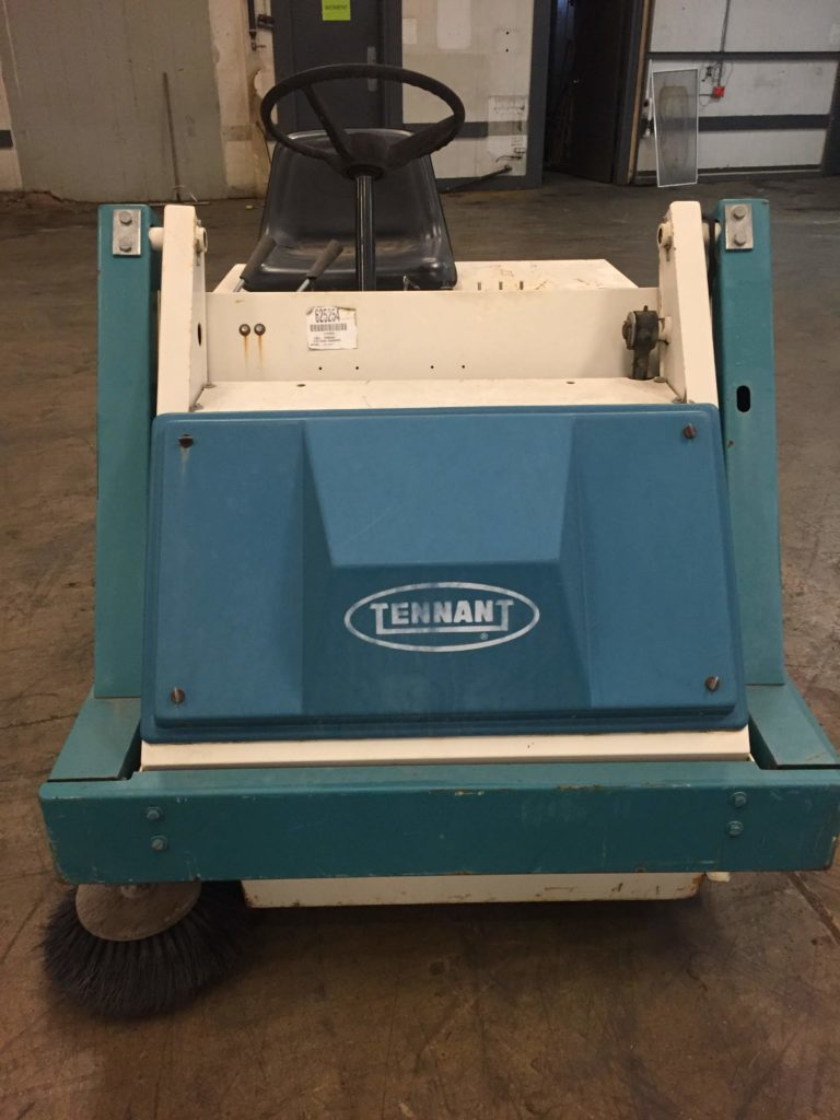 1993 Tennant 215 Yard Sweeper Ccr Industrial Sales