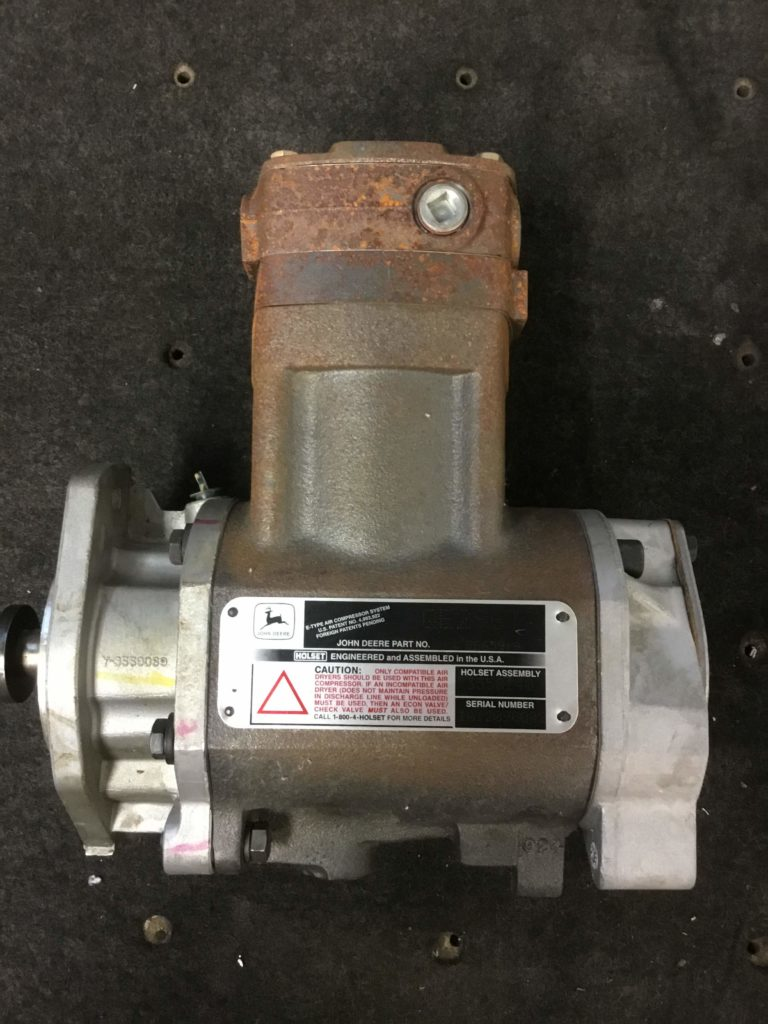 John Deere Air Compressor >> John Deere Air Compressor System Re65919