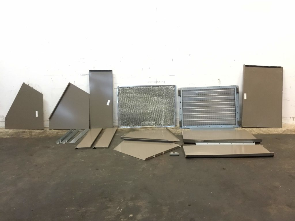 Horizontal Economizer Accessory With Econocell Filter - CCR Industrial Sales
