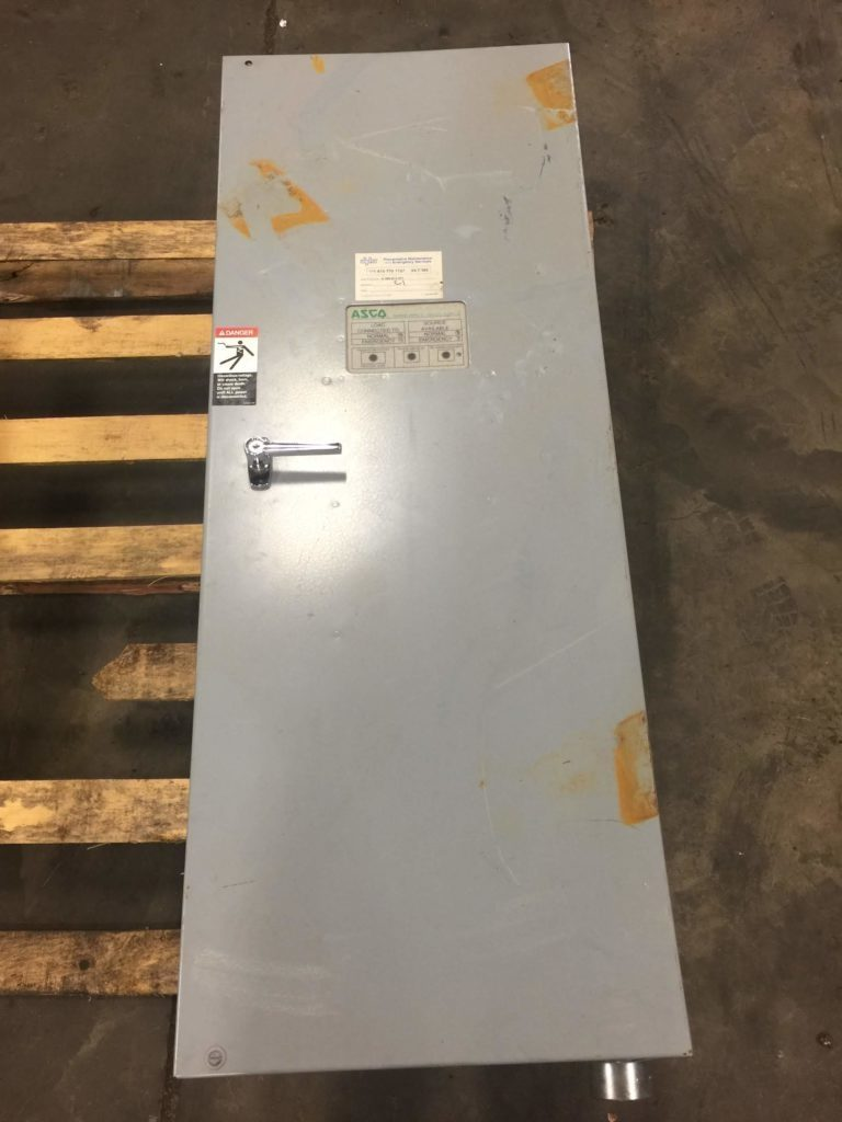 Asco Automatic Transfer Switch A300240062c Ebay 185 Series Switches