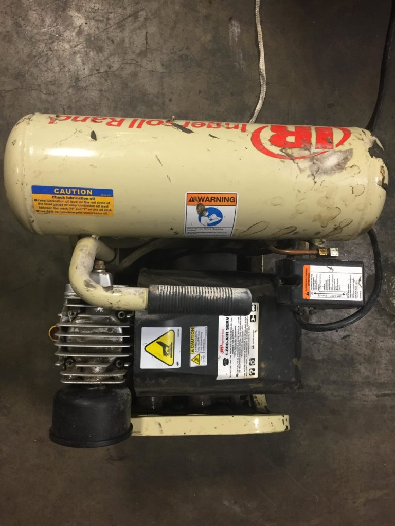 Ingersoll Rand P1IU-A9 4 Gal  2 HP Portable Electric Twin Stack Air  Compressor - CCR Industrial Sales