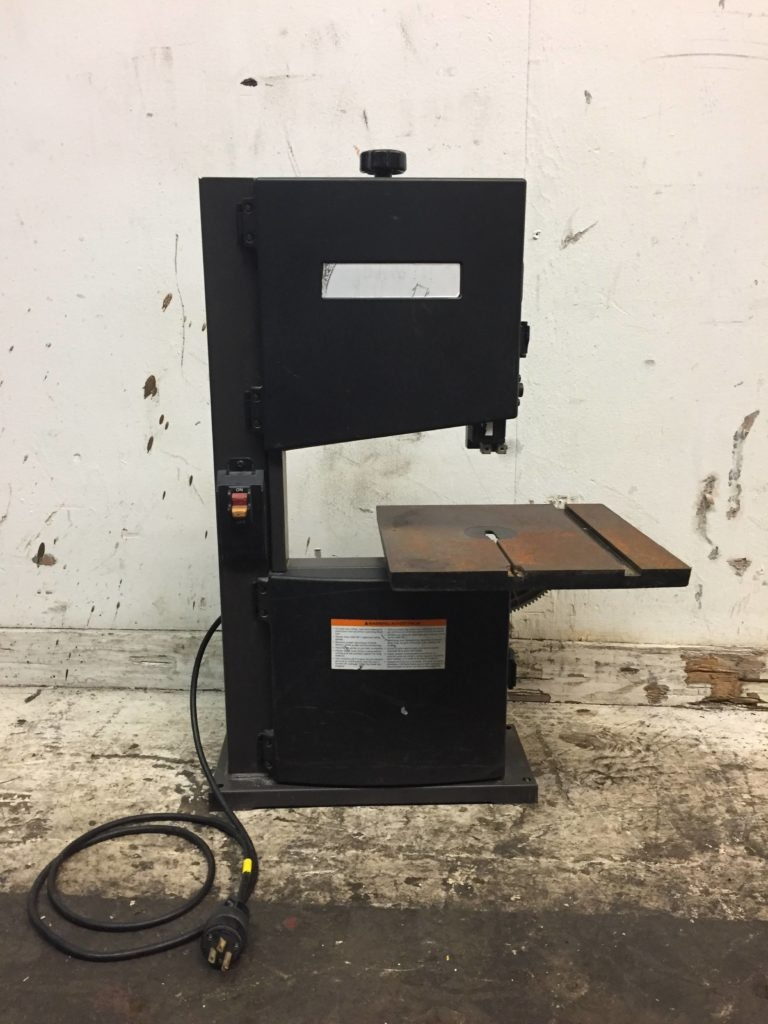 Dayton 9 Vertical Bench Band Saw 2lku5a Ccr Industrial Sales