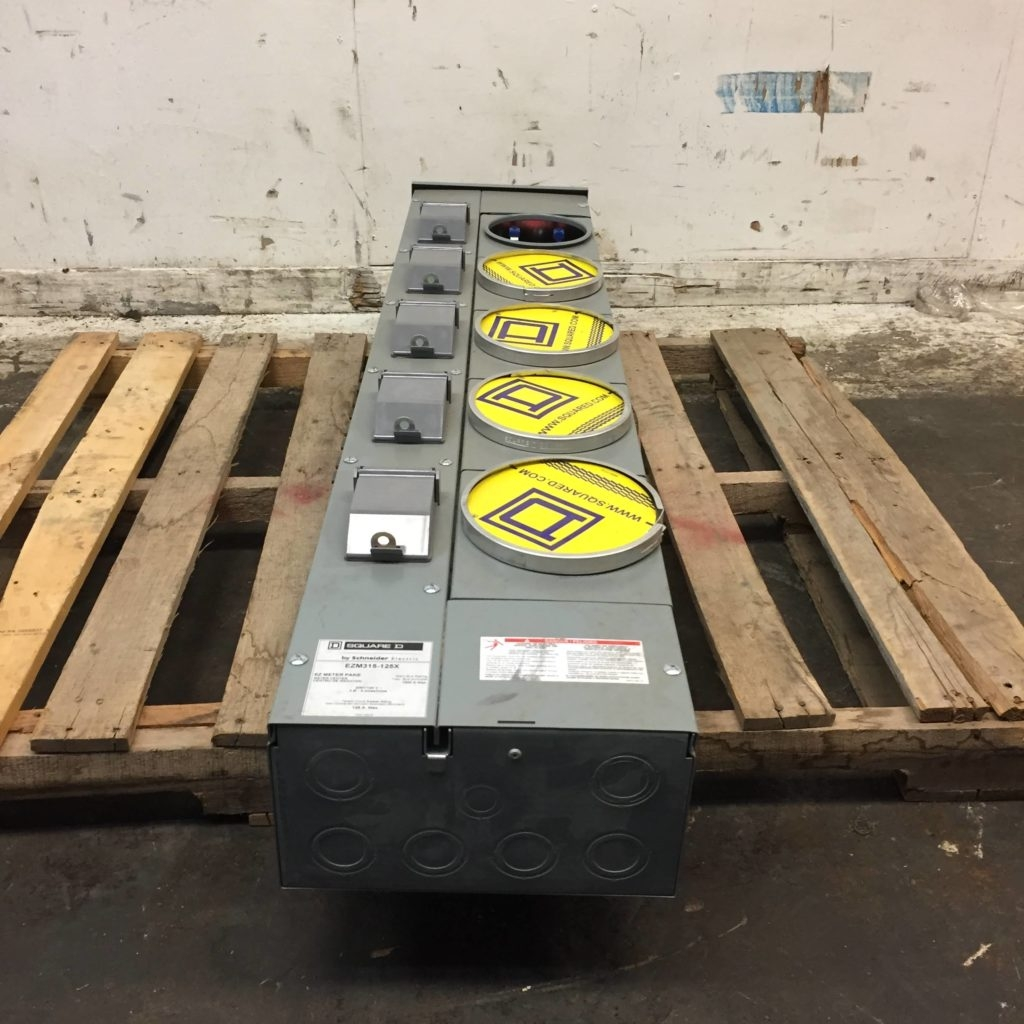 Square D By Schneider Electric EZM315-125X 5 Gang EZ Meter Pak - CCR  Industrial Sales