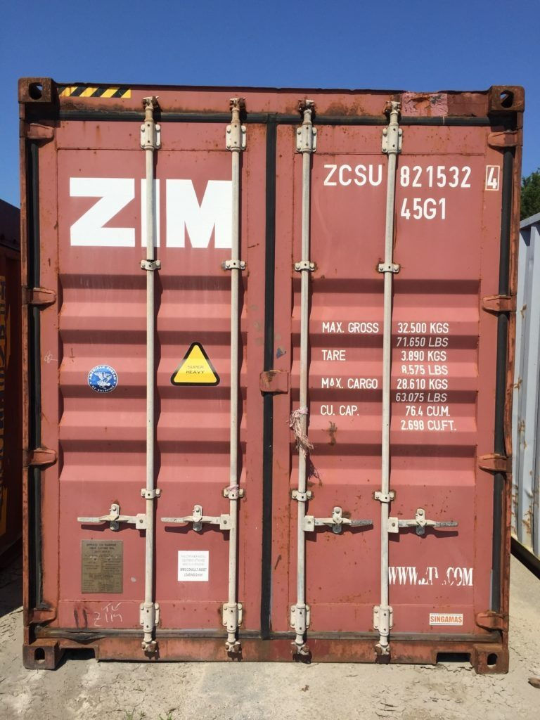 Singamas 40′ High Cube Shipping Container