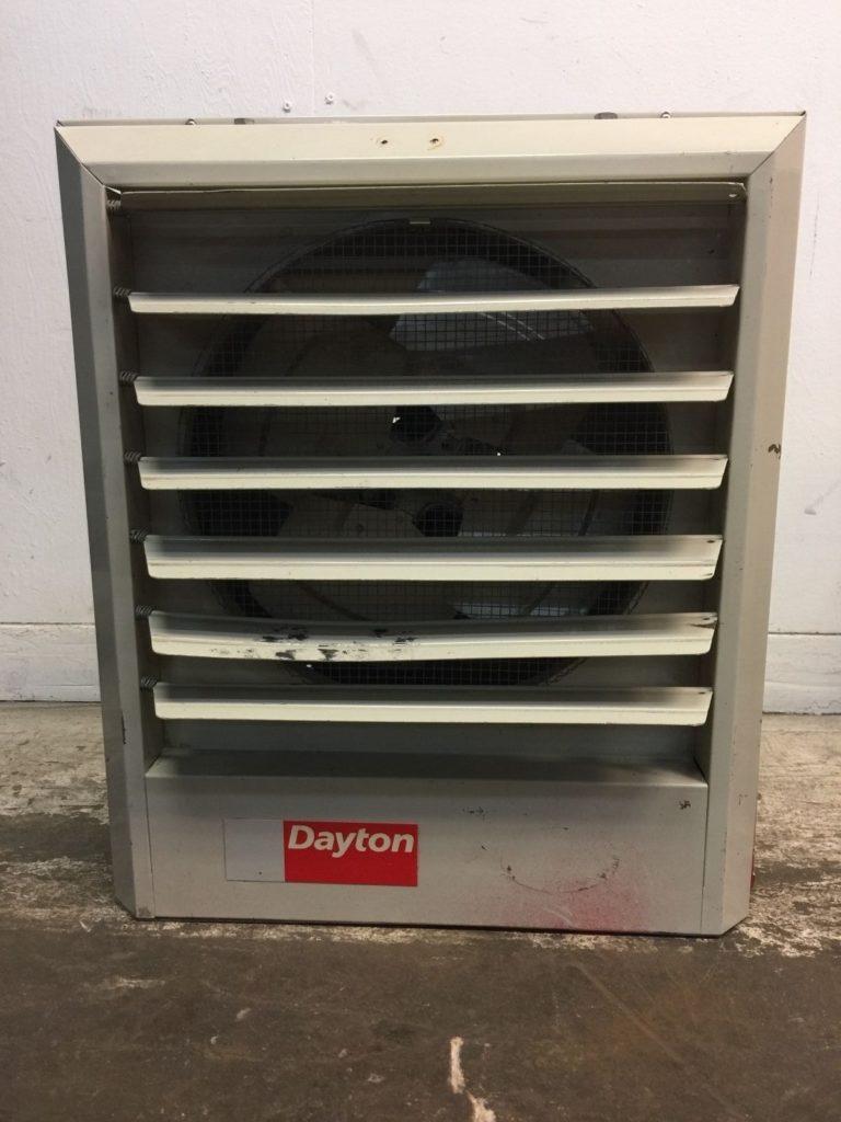 Dayton 3uf83 Unit Heater 5 6  7 5kw  240  208v