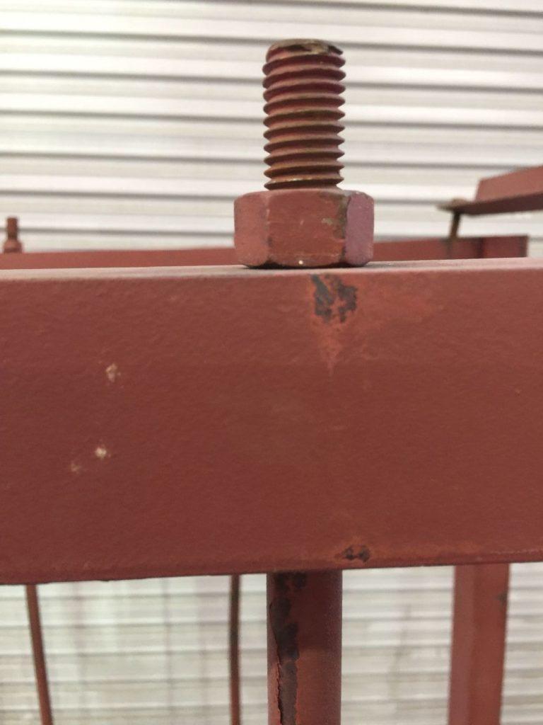 Industrial Metal Vertical Storage Rack  ...