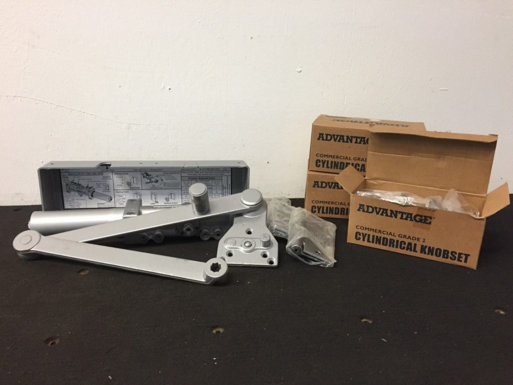 of lock and sets commercial lot door hinges closer doors hardware shop