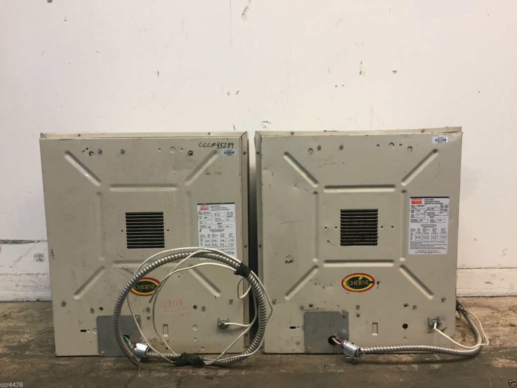 Dayton Model 2yu73 And 3uf90 Unit Heaters Qty 2 Ccr Electric Heater Wiring Diagram
