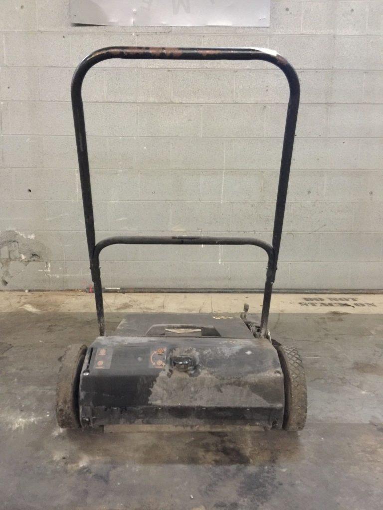Dayton 19 Push Floor Sweeper Ccr Industrial Sales