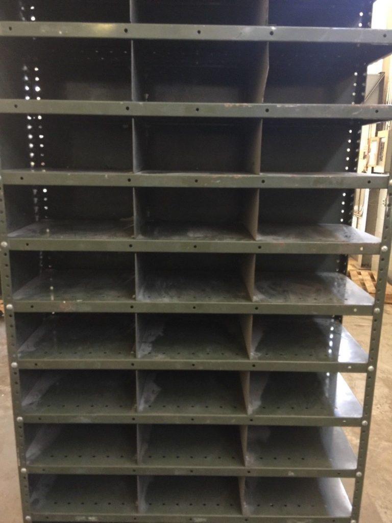 Open Organizer Cabinet Storage Bins