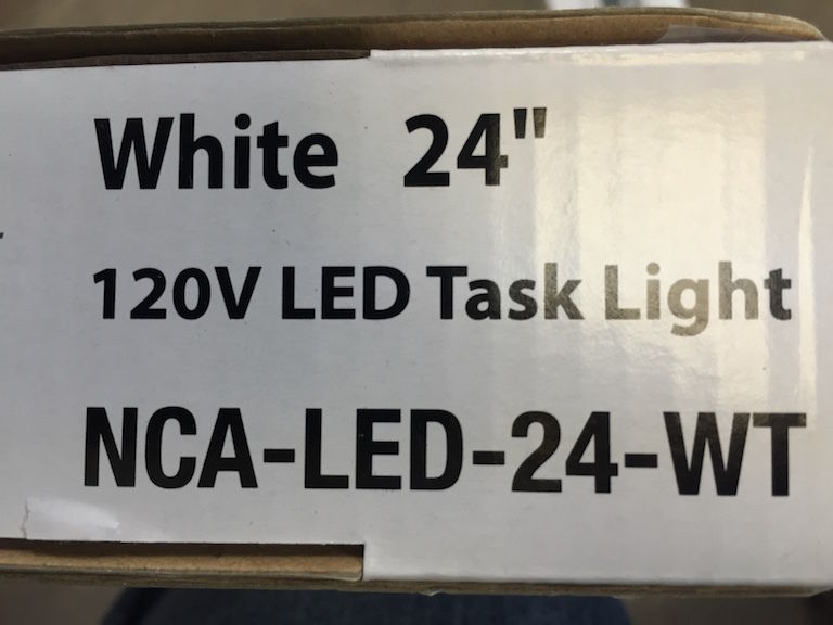 Creative Systems Lighting Counter Led 24 Task Light Lot Of 2
