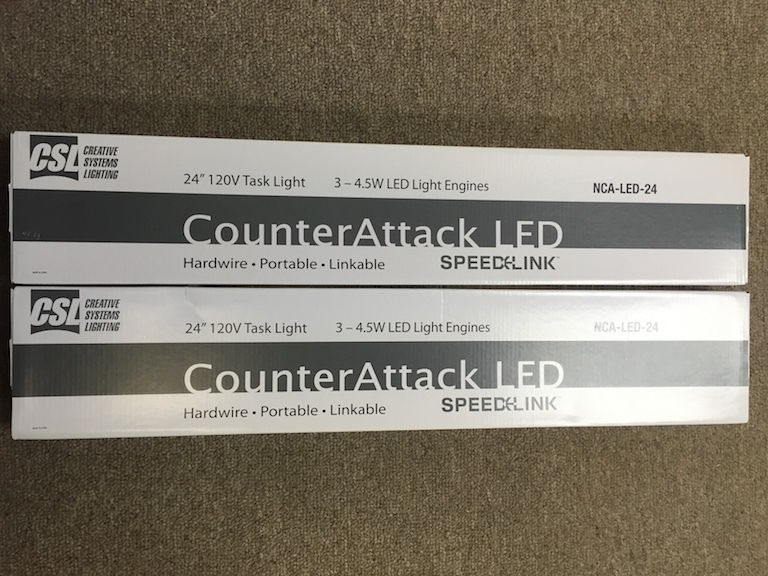Creative Systems Lighting CounterAttack LED 24 Awesome Design
