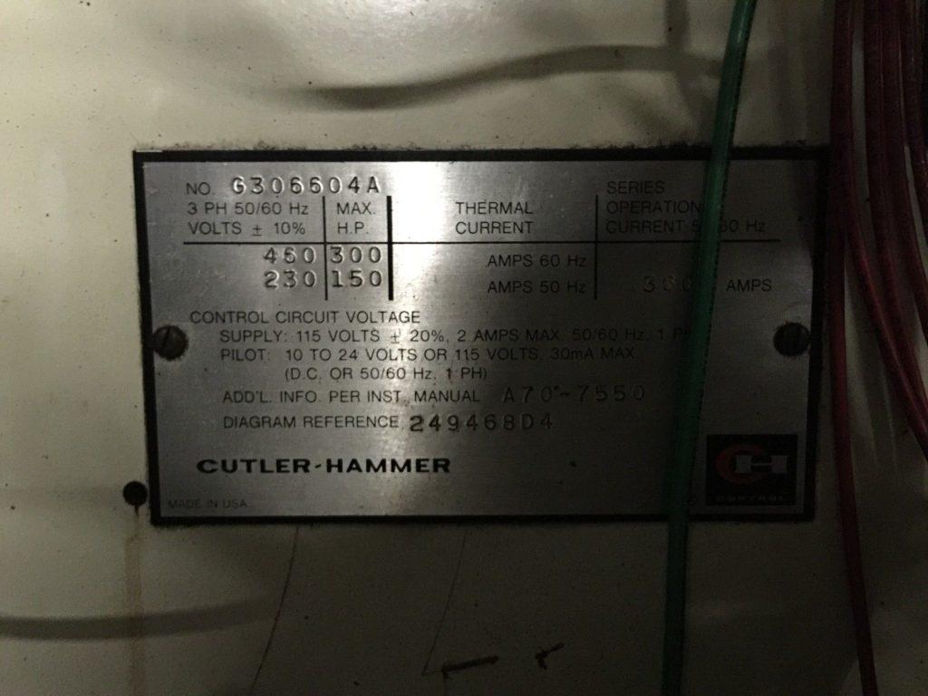 Cutler Hammer Transformer Control Wiring - Block And Schematic ...