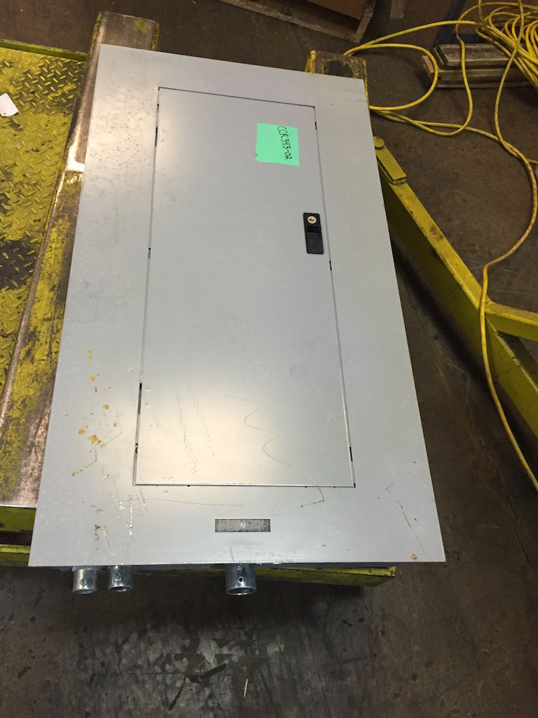 Ge A Series Ii Panelboard With Breakers Cat  No  Aqf3421mb