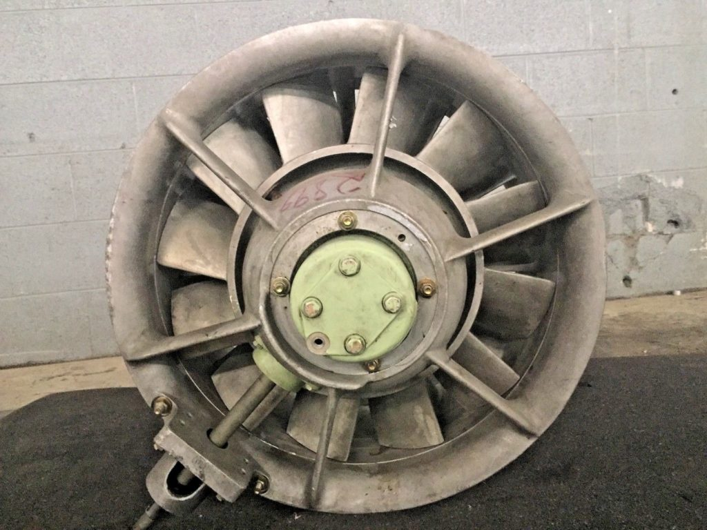 High Pressure Axial Fan 6 : Vaneaxial high pressure fan quot ccr industrial sales