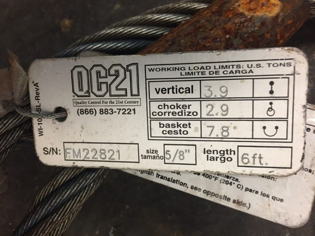 Assorted Wire Rope Slings Qty: 15 - CCR Industrial