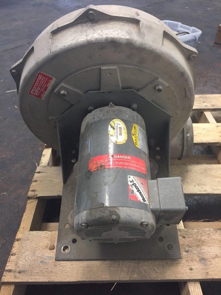 Cincinnati Fan Company PB-14A Centrifugal Blower with 5HP 3PH Motor