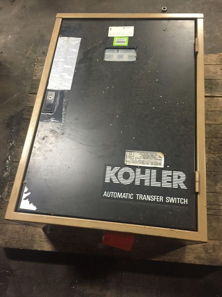 Kohler 70a Automatic Transfer Switch 22 5 Rz R 300