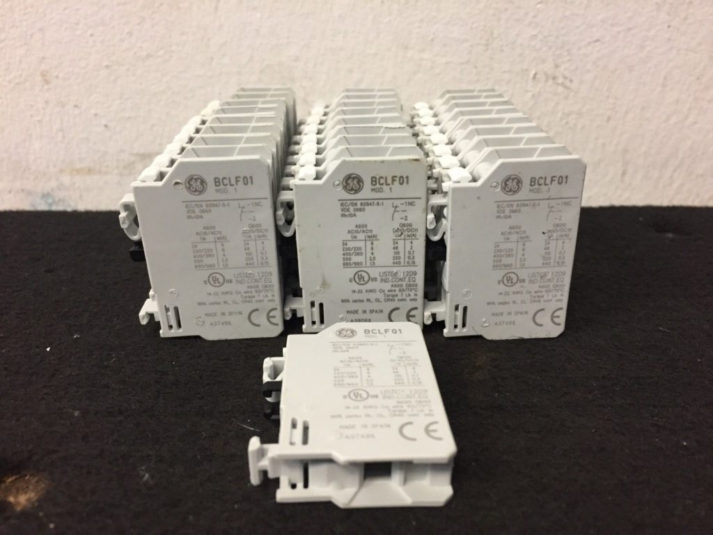 GE BCLF01 General Electric Auxiliary Contact Block