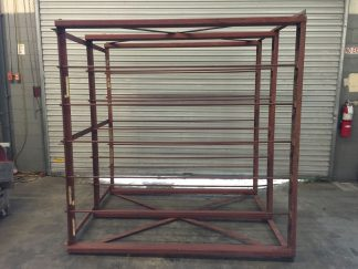 Youu0027re viewing Industrial Metal Horizontal Storage Rack 76u2033 x 60u2033 x 80u2033 $250.00 & Industrial Metal Horizontal Storage Rack 76
