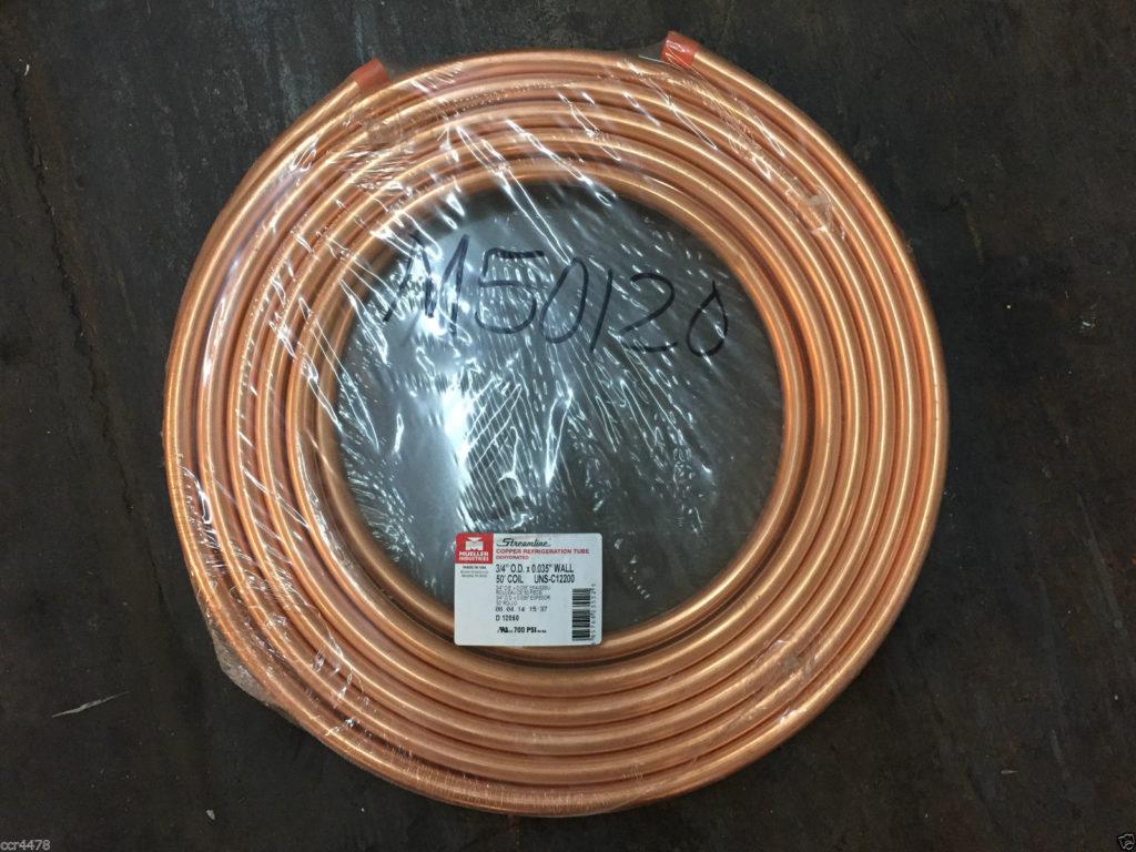 NEW Streamline Mueller Refrigeration Tube Dehydrated 3/4
