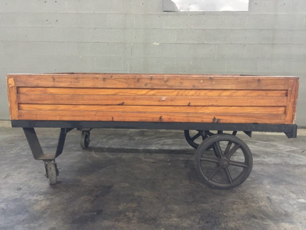 Wooden Wagon Coffee Table ...