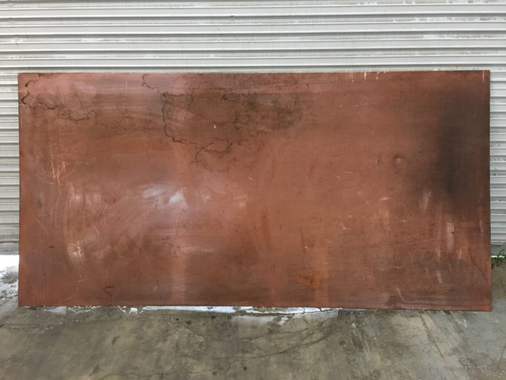 Copper Sheet 4ft X 8ft 1 8 Quot Thick Ccr Industrial Sales